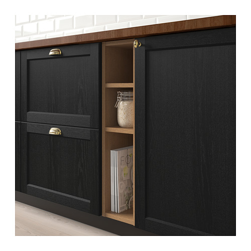 VADHOLMA - open storage, brown/stained ash | IKEA Hong Kong and Macau - PE692041_S4