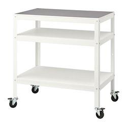 BROR - 活動几, 55x85x88 cm, 白色   IKEA 香港及澳門 - PE756066_S3