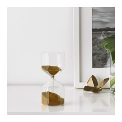 TILLSYN - decorative hourglass, clear glass | IKEA Hong Kong and Macau - PE644721_S3
