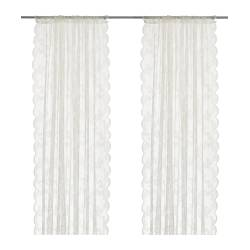 ALVINE SPETS - 窗紗,一對, 灰白色 | IKEA 香港及澳門 - PE242082_S3