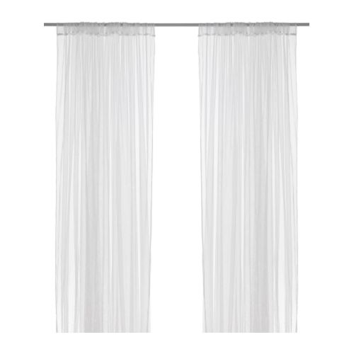 LILL - net curtains, 1 pair, white | IKEA Hong Kong and Macau - PE242253_S4