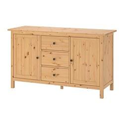 HEMNES - 餐具櫃, 淺褐色 | IKEA 香港及澳門 - PE692209_S3