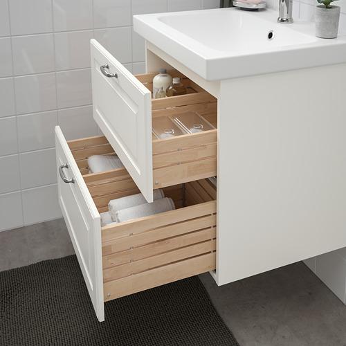 ODENSVIK/GODMORGON - 雙抽屜洗手盆櫃, Kasjön white/Hamnskär tap | IKEA 香港及澳門 - PE734819_S4