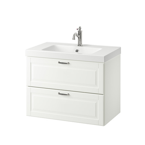 ODENSVIK/GODMORGON - wash-stand with 2 drawers, Kasjön white/Hamnskär tap | IKEA Hong Kong and Macau - PE734830_S4