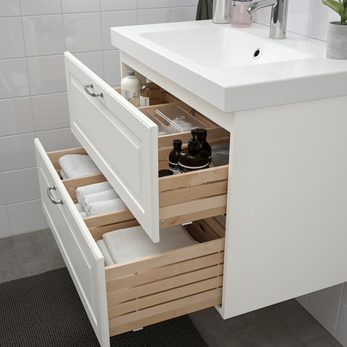 ODENSVIK/GODMORGON - wash-stand with 2 drawers, Kasjön white/Hamnskär tap | IKEA Hong Kong and Macau - PE734832_S4