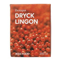 DRYCK LINGON - 紅果子果汁, 有機 | IKEA 香港及澳門 - PE242942_S3