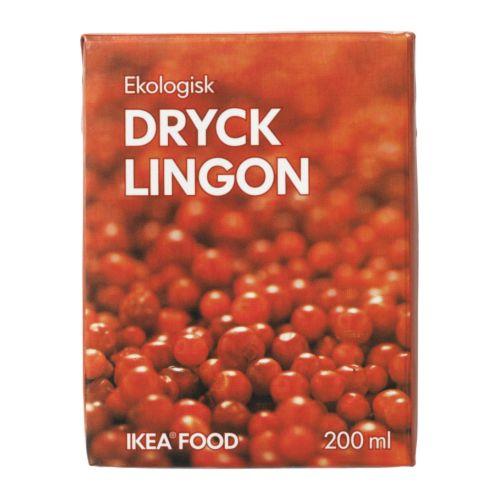 DRYCK LINGON - 紅果子果汁, 有機 | IKEA 香港及澳門 - PE242942_S4