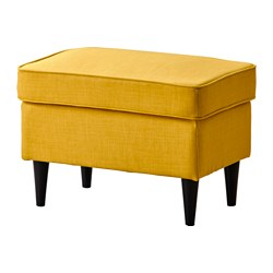 STRANDMON - footstool, Skiftebo yellow | IKEA Hong Kong and Macau - PE517962_S3