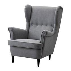 STRANDMON - 扶手椅, Nordvalla 深灰色 | IKEA 香港及澳門 - PE517964_S3