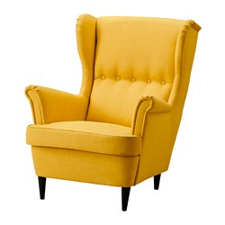 STRANDMON - wing chair, Skiftebo yellow | IKEA Hong Kong and Macau - PE517970_S3