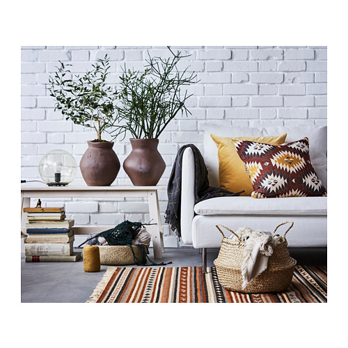 SANELA - cushion cover, golden-brown | IKEA Hong Kong and Macau - PH149439_S4
