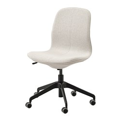 LÅNGFJÄLL - 辦公椅, Gunnared 米黃色/黑色 | IKEA 香港及澳門 - PE734858_S3