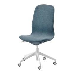 LÅNGFJÄLL - office chair, Gunnared blue/white   IKEA Hong Kong and Macau - PE734871_S3
