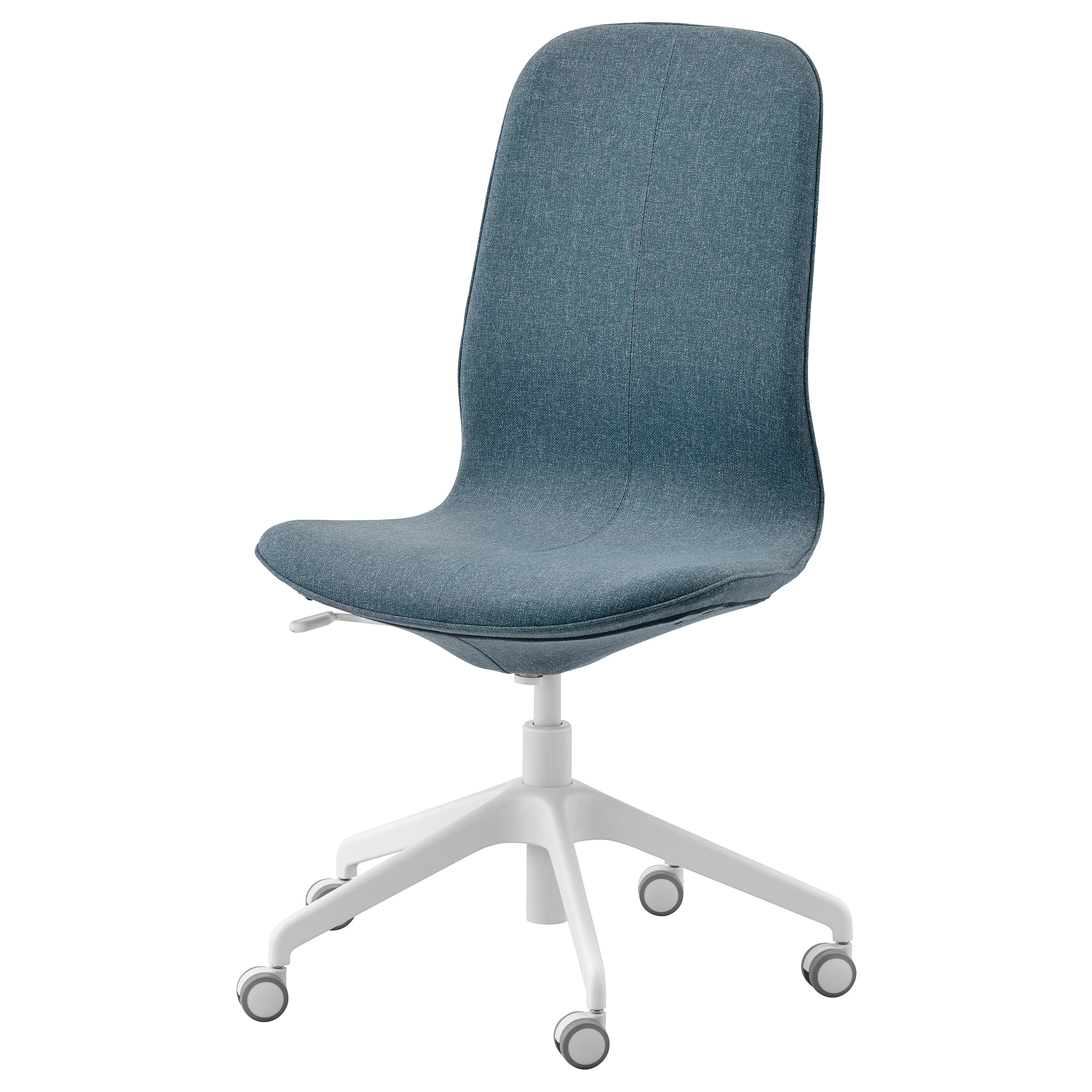 LÅNGFJÄLL - Office Chair, Gunnared Blue/white