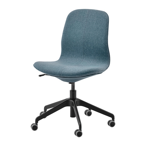 LÅNGFJÄLL - office chair, Gunnared blue/black | IKEA Hong Kong and Macau - PE734878_S4