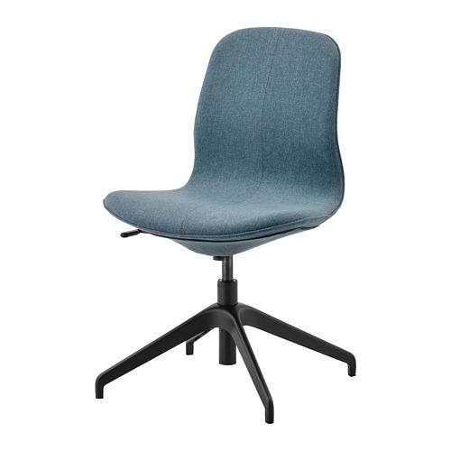 LÅNGFJÄLL - conference chair, Gunnared blue/black | IKEA Hong Kong and Macau - PE734879_S4