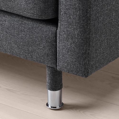 LANDSKRONA - armchair, Gunnared dark grey/metal   IKEA Hong Kong and Macau - PE711001_S4