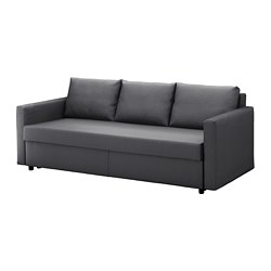 FRIHETEN - three-seat sofa-bed with storage, Skiftebo dark grey | IKEA Hong Kong and Macau - PE644868_S3