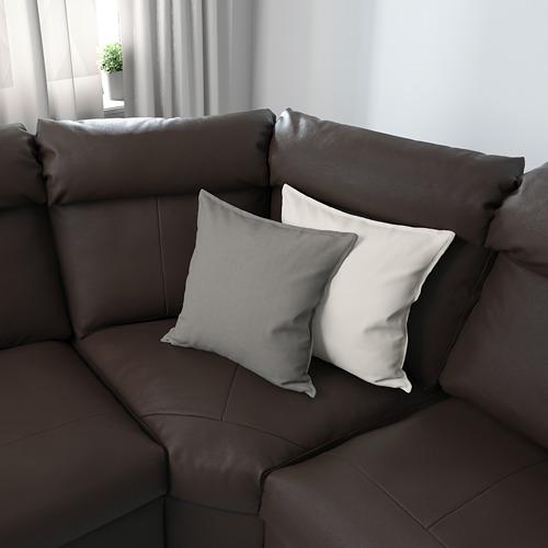 LIDHULT - 四座位角位梳化, Grann/Bomstad 深褐色   IKEA 香港及澳門 - PE689389_S4