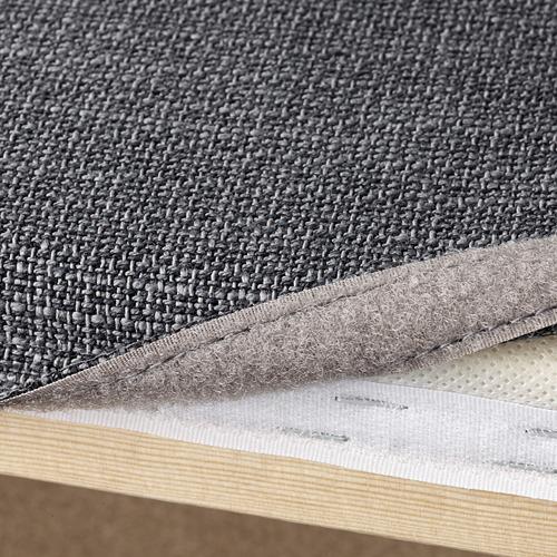 VALLENTUNA - 2-seat modular sofa with sofa-bed, and storage/Hillared dark grey | IKEA Hong Kong and Macau - PE692046_S4