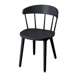 OMTÄNKSAM - 椅子, 炭黑色 | IKEA 香港及澳門 - PE776358_S3