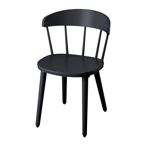 OMTÄNKSAM - 椅子, 炭黑色 | IKEA 香港及澳門 - PE776358_S4