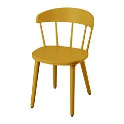 OMTÄNKSAM - 椅子, 黃色 | IKEA 香港及澳門 - PE776360_S3