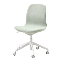 LÅNGFJÄLL - office chair, Gunnared light green/white | IKEA Hong Kong and Macau - PE735055_S3