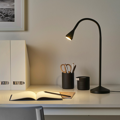 NÄVLINGE - LED工作燈, 黑色   IKEA 香港及澳門 - PE735091_S4