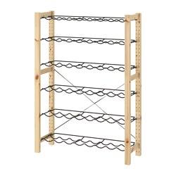 IVAR - 酒架貯物組合, 89x30x124 cm, 松木/灰色 | IKEA 香港及澳門 - PE692561_S3