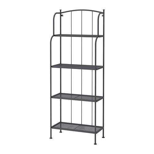 LÄCKÖ - shelving unit, outdoor, grey | IKEA Hong Kong and Macau - PE692565_S4