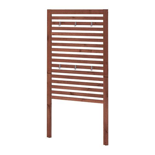 ÄPPLARÖ - wall panel, outdoor, brown stained   IKEA Hong Kong and Macau - PE692564_S4