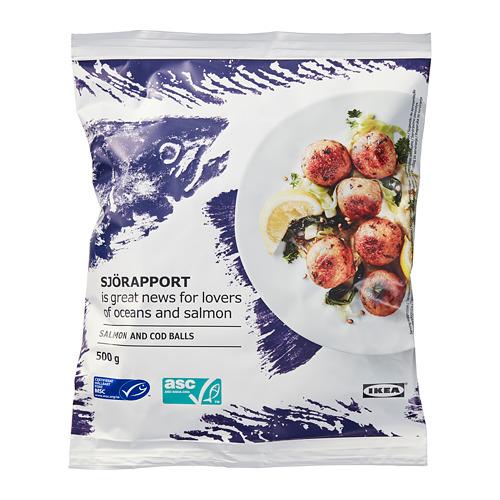 SJÖRAPPORT 急凍三文魚鱈魚丸