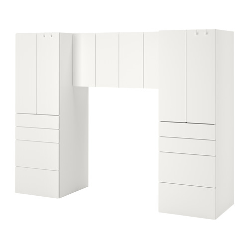 PLATSA/SMÅSTAD - storage combination, white/white | IKEA Hong Kong and Macau - PE789072_S4