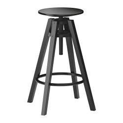 DALFRED - bar stool, seat height 74cm, black | IKEA Hong Kong and Macau - PE244903_S3