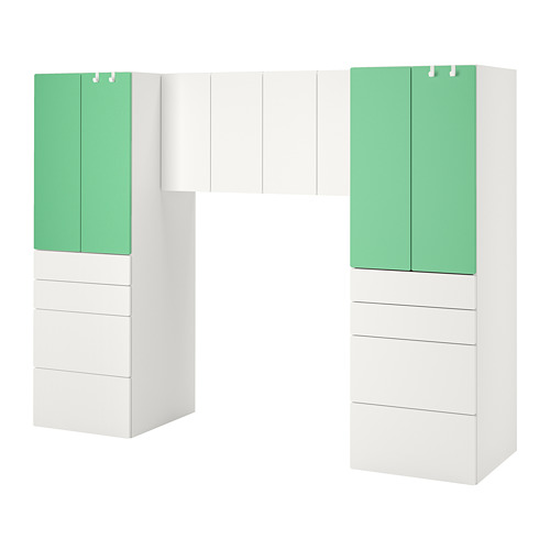 PLATSA/SMÅSTAD storage combination
