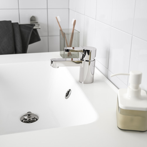 ENSEN - wash-basin mixer tap with strainer, chrome-plated | IKEA Hong Kong and Macau - PE735292_S4