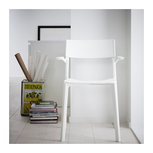 JANINGE - chair with armrests, white | IKEA Hong Kong and Macau - PH121448_S4