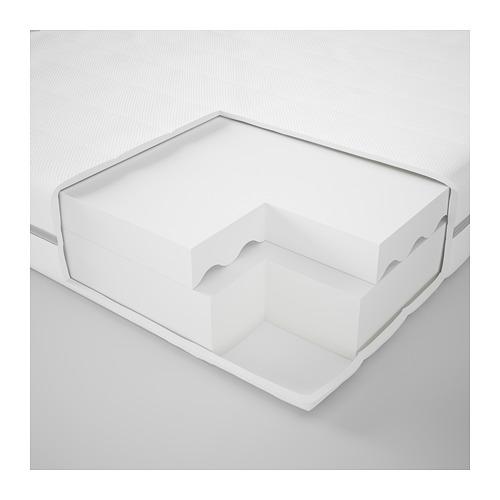 MALFORS foam mattress, firm/double