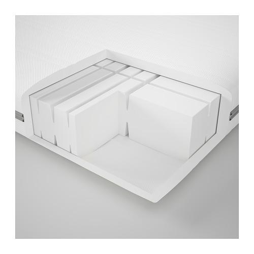 MALVIK foam mattress, medium firm/single