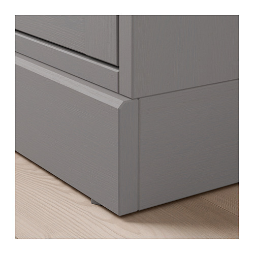 HAVSTA - storage combination w glass doors, grey | IKEA Hong Kong and Macau - PE692889_S4
