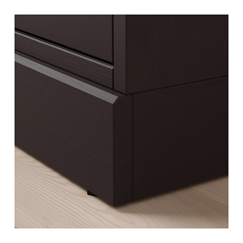 HAVSTA - storage comb w sliding glass doors, dark brown | IKEA Hong Kong and Macau - PE692892_S4