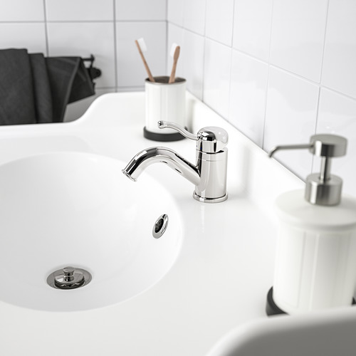 LILLSVAN 浴室冷熱水龍頭連過濾器