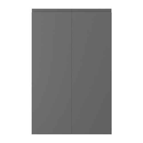 VOXTORP - 角位地櫃門,2件裝, 右開 深灰色 | IKEA 香港及澳門 - PE739175_S4