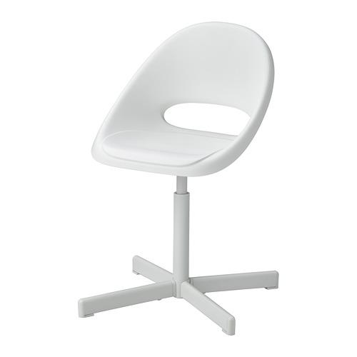 SIBBEN/LOBERGET - children's desk chair, white   IKEA Hong Kong and Macau - PE776395_S4