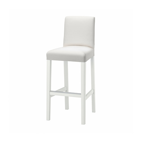 BERGMUND bar stool with backrest