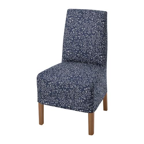 BERGMUND - 椅子連中長椅套, 橡木/Ryrane 深藍色   IKEA 香港及澳門 - PE789318_S4