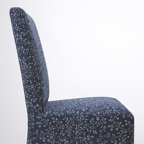 BERGMUND - 椅子連中長椅套, 橡木/Ryrane 深藍色   IKEA 香港及澳門 - PE789320_S4