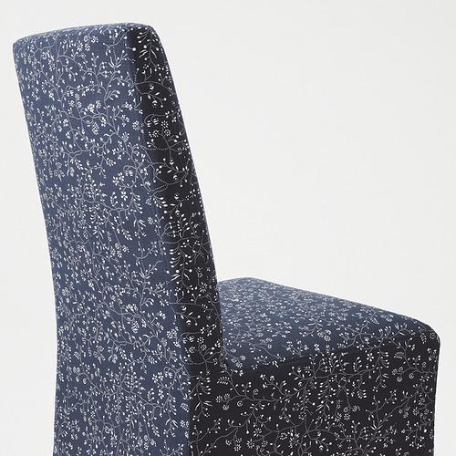 BERGMUND - 椅子連中長椅套, 橡木/Ryrane 深藍色   IKEA 香港及澳門 - PE789319_S4