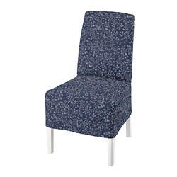 BERGMUND - chair w medium long cover, white/Ryrane dark blue | IKEA Hong Kong and Macau - PE789322_S3